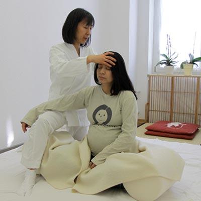 Shiatsu für Schwangere
